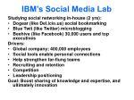 ibm s social media lab