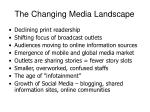 the changing media landscape