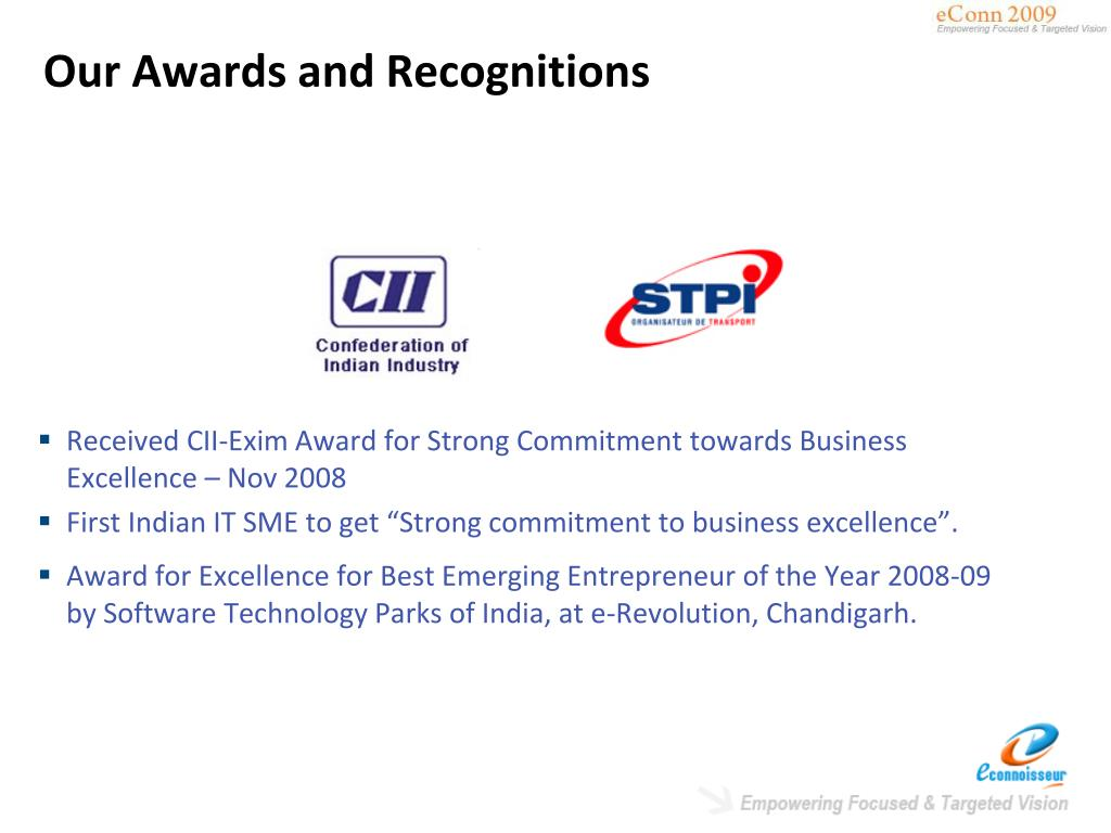 Our Awards and Recognitions