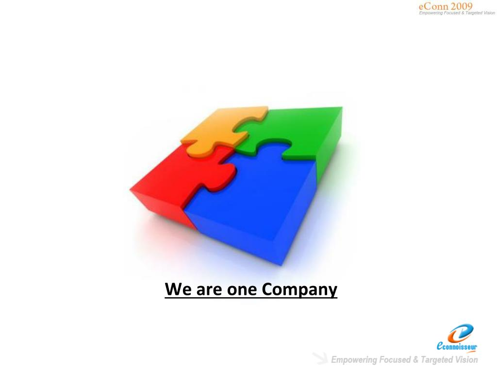 We are one Company