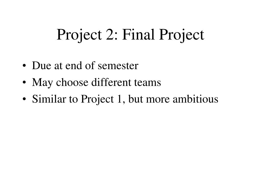 Project 2: Final Project