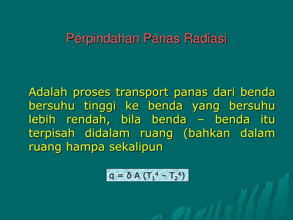PPT - PERPINDAHAN PANAS PowerPoint Presentation, free ...