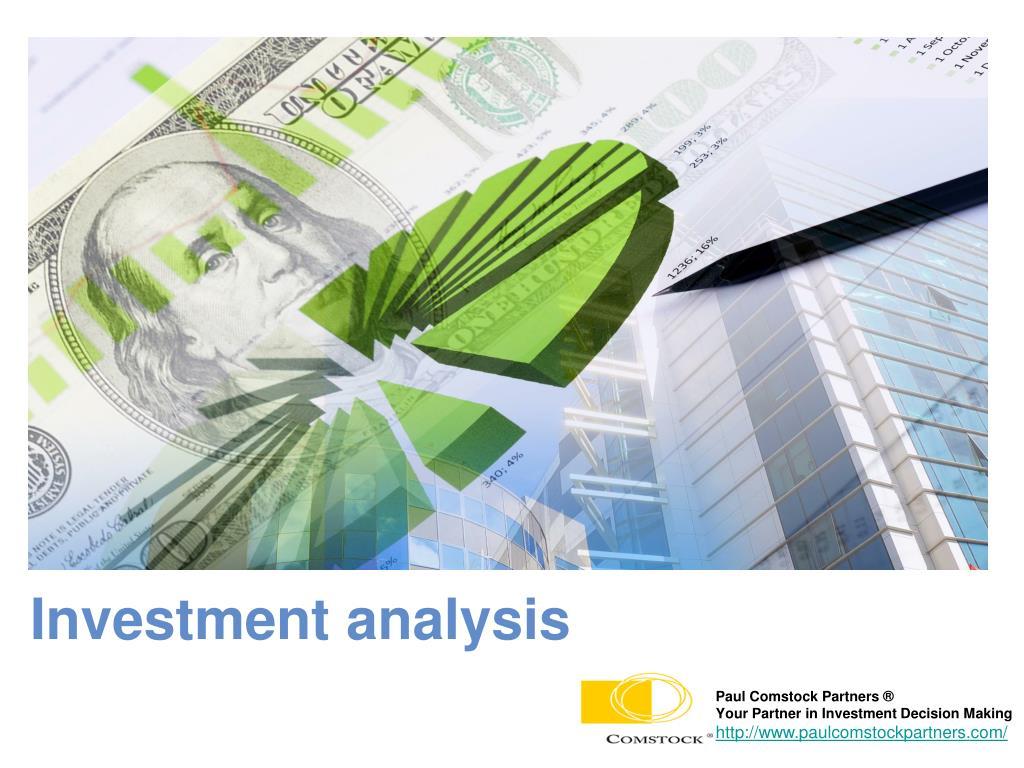investment analysis l.