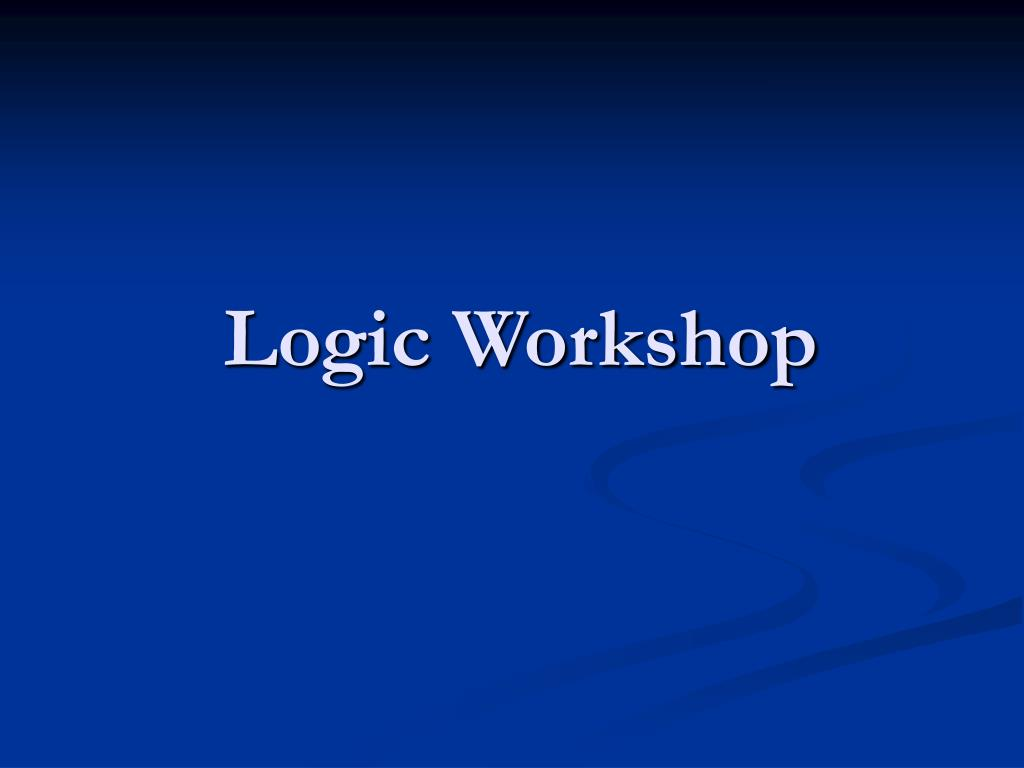 logic workshop l.