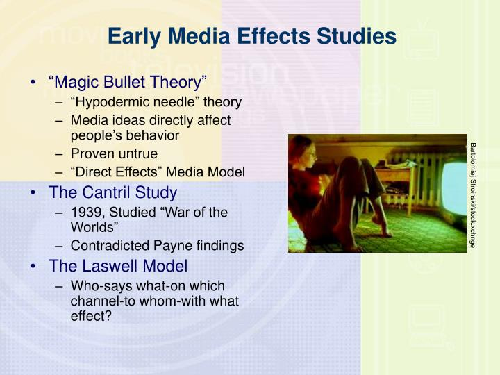 Early media effects studies