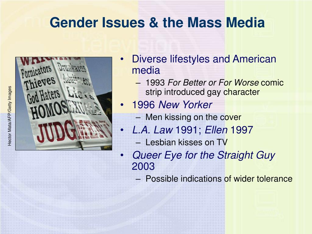 Diverse lifestyles and American media