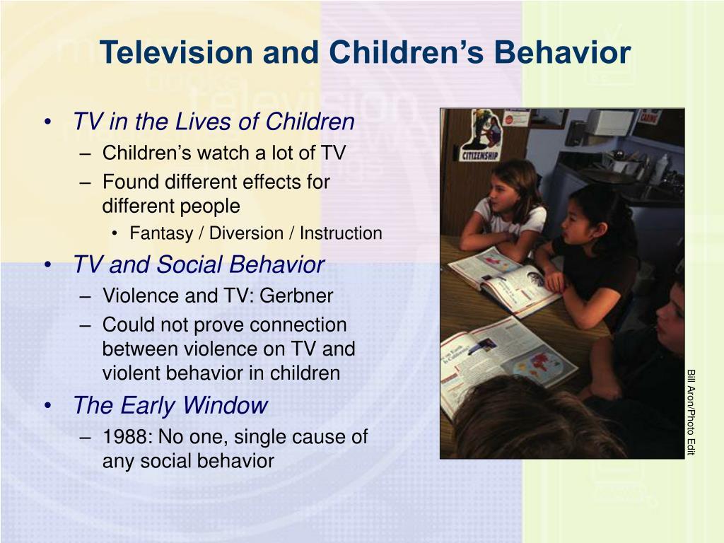 Television and Children's Behavior