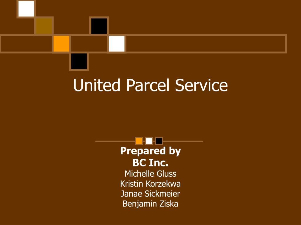 united parcel service l.