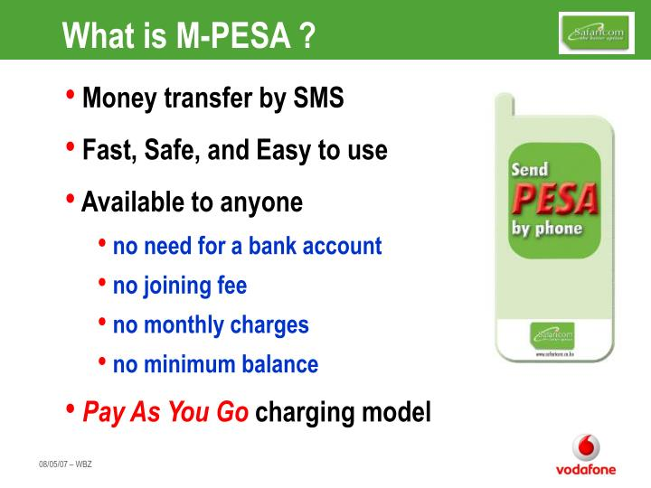 What is m pesa