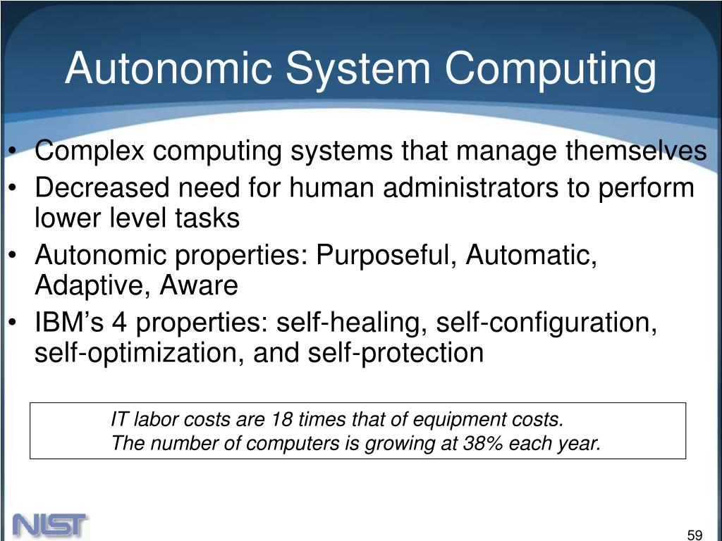 Autonomic System Computing