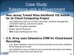 case study salesforce com in government82