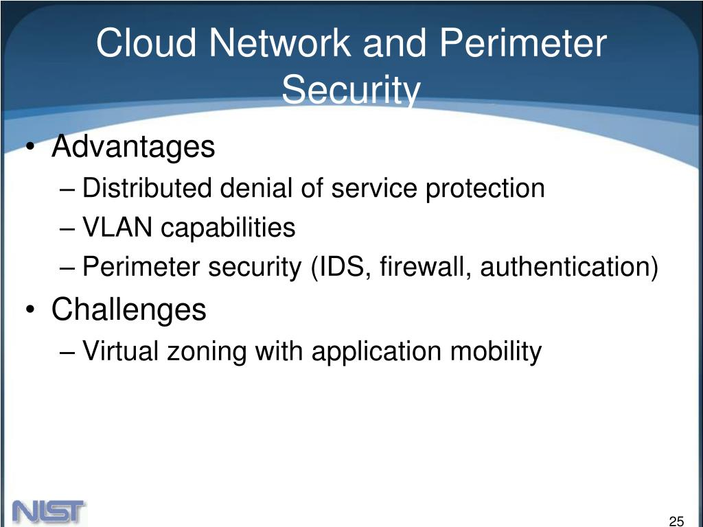 Cloud Network and Perimeter Security