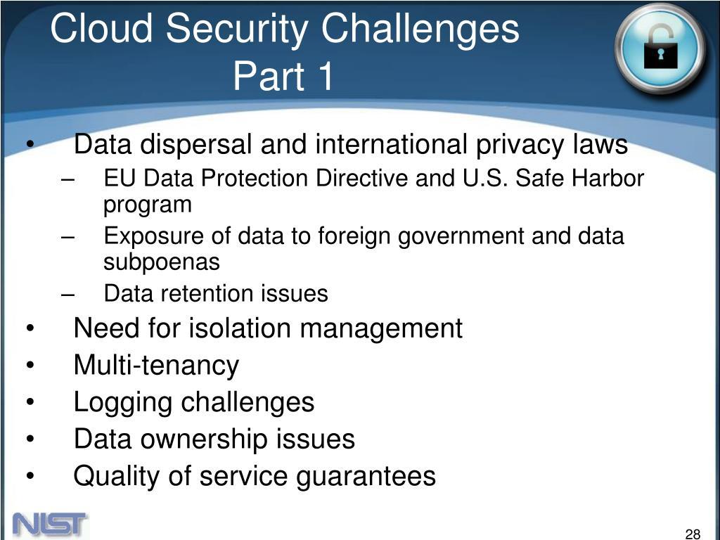 Cloud Security Challenges Part 1