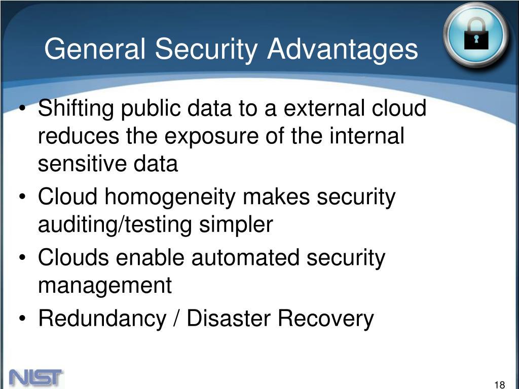 General Security Advantages