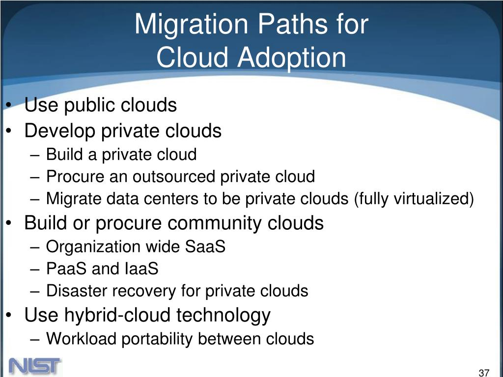 Migration Paths for