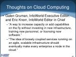 thoughts on cloud computing46