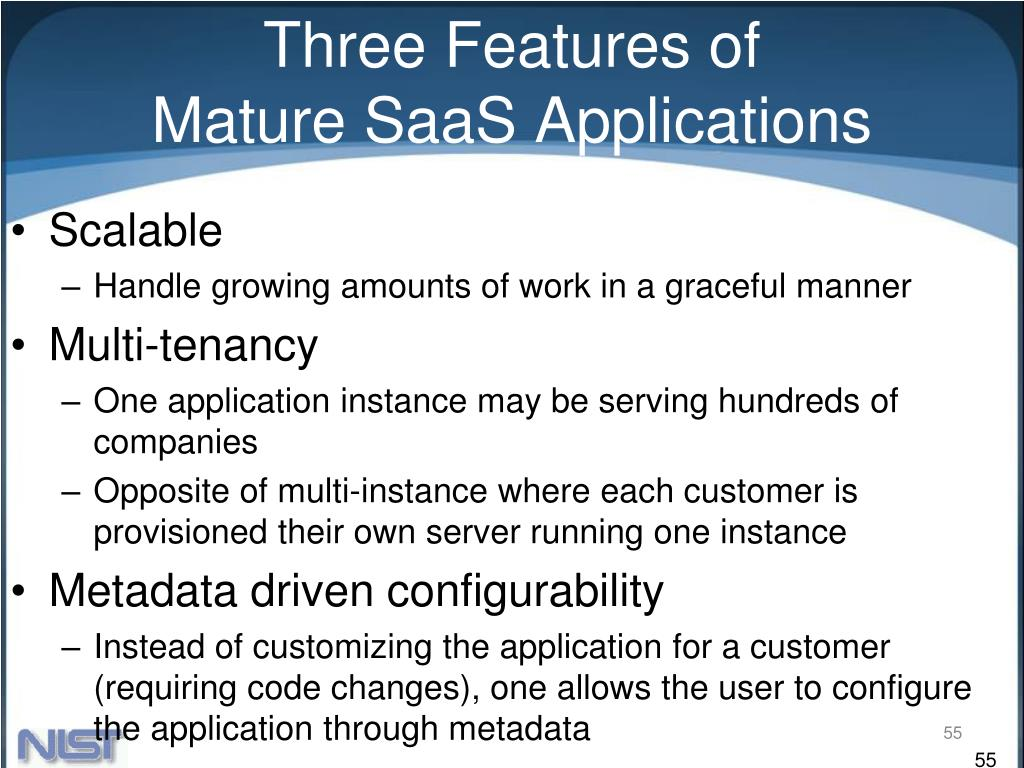 Three Features of