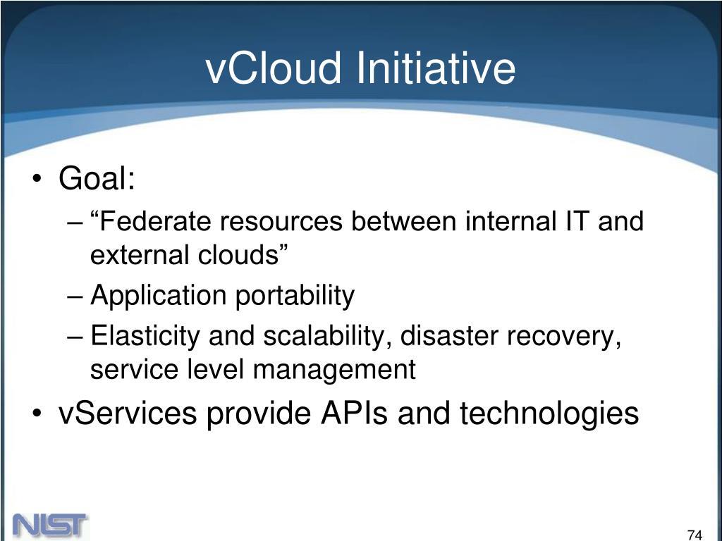 vCloud Initiative