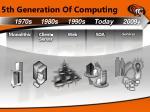 5th generation of computing