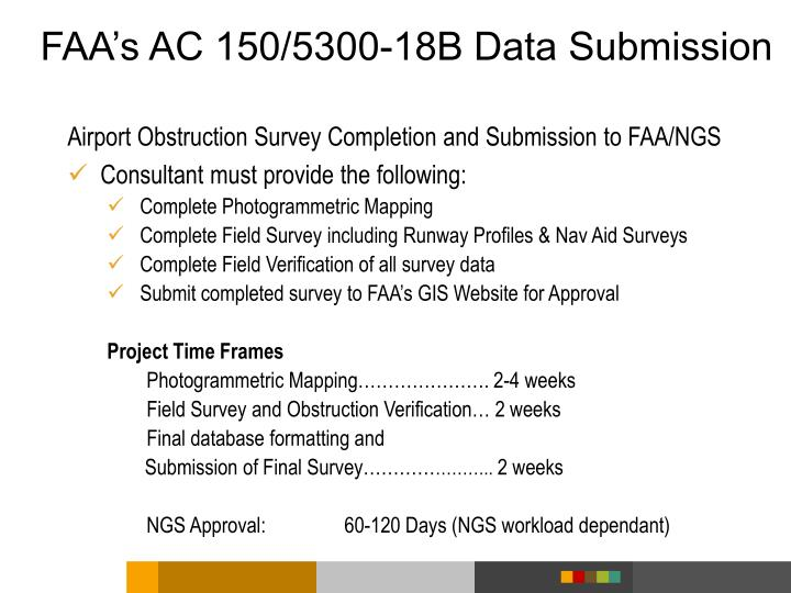 Ppt obstruction surveys and airport airspace analysis powerpoint faas ac 1505300 18b data submission publicscrutiny Image collections
