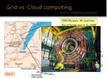 grid vs cloud computing a grid computing example