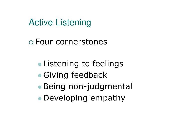 Active Listening