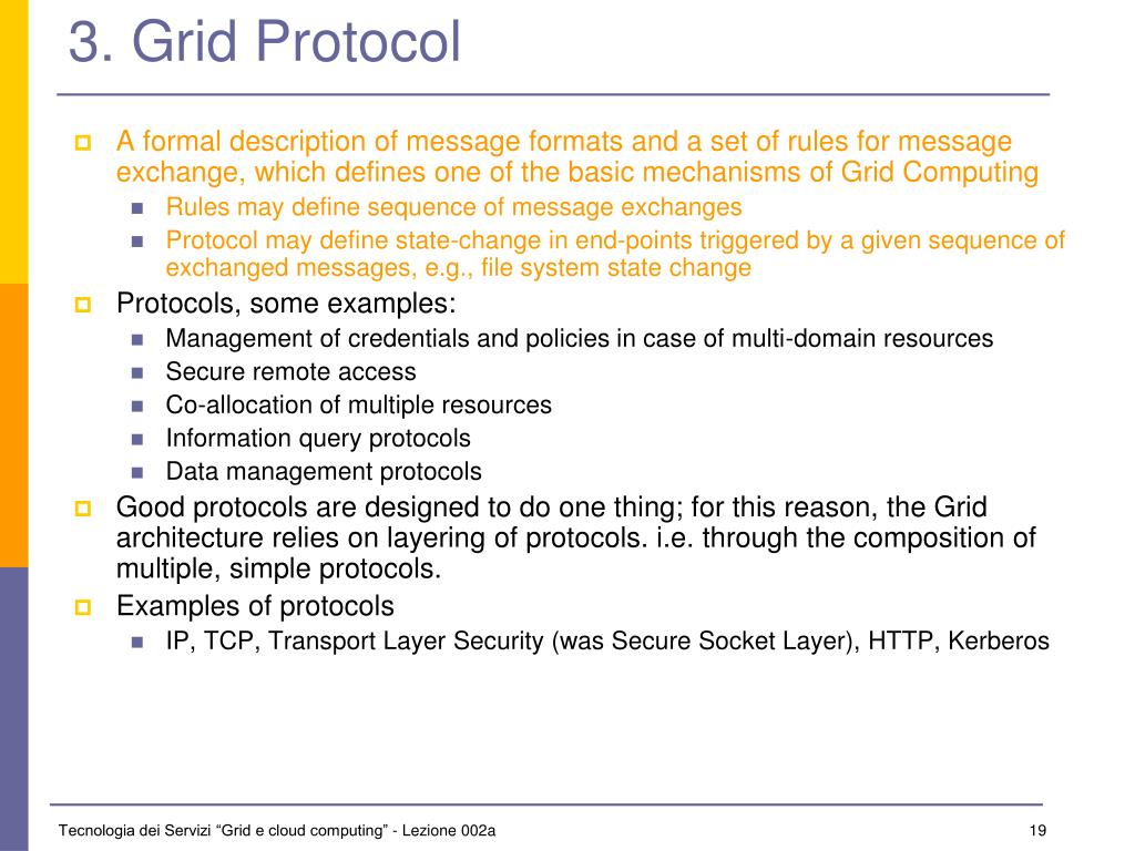 3. Grid Protocol