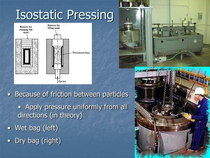 Isostatic Pressing