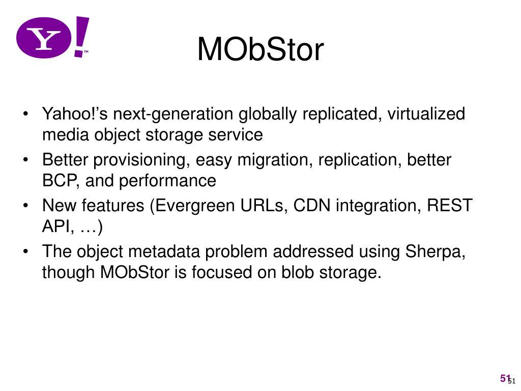 MObStor