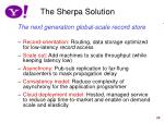 the sherpa solution