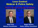 loss control skidcar police safety territory covers entire state of alabama