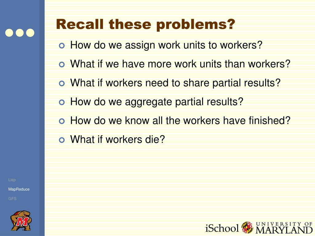 Recall these problems?