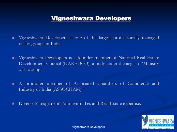 Vigneshwara developers