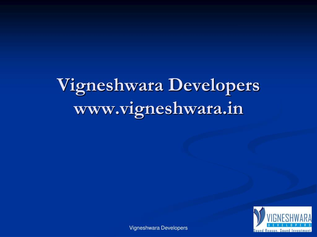 vigneshwara developers www vigneshwara in l.