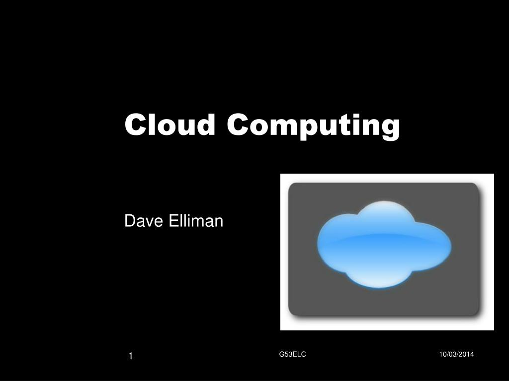 cloud computing l.