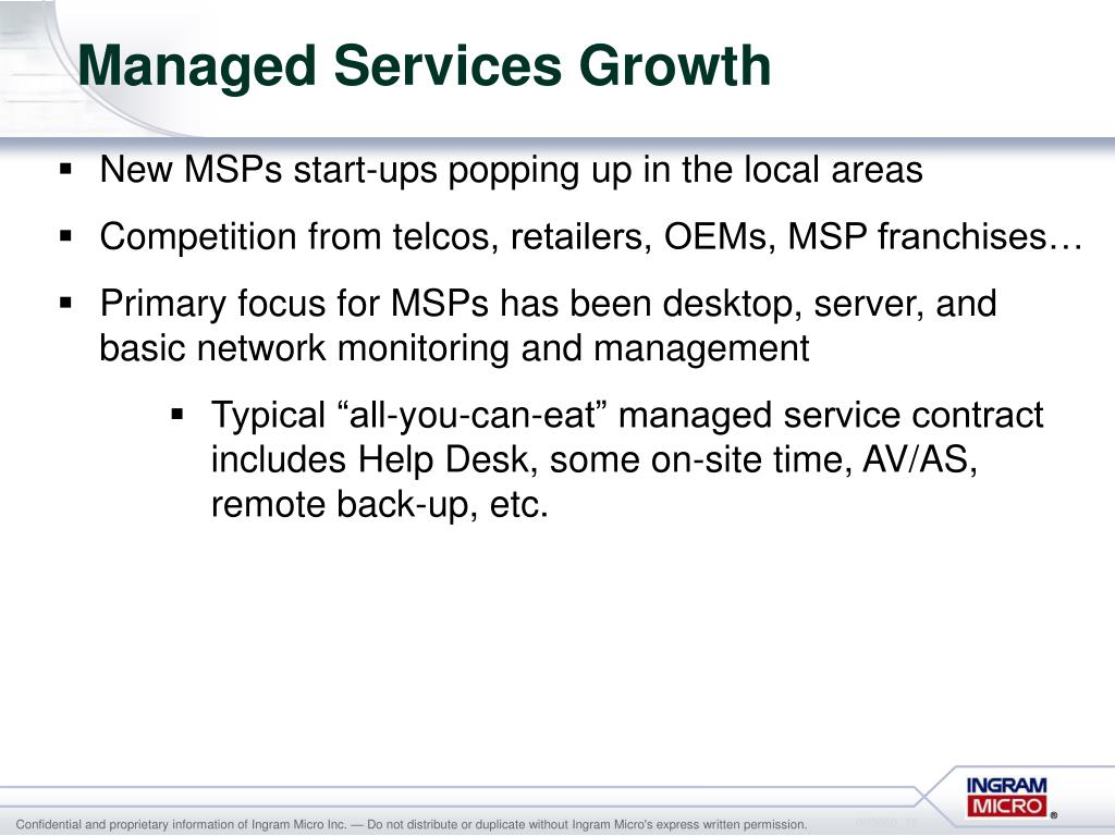 Managed Services Growth