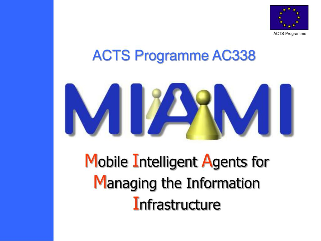 acts programme ac338 l.