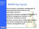 miami key issues