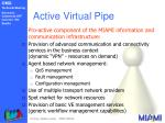 active virtual pipe
