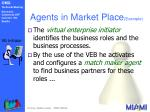 agents in market place example