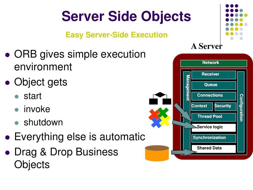 Server Side Objects