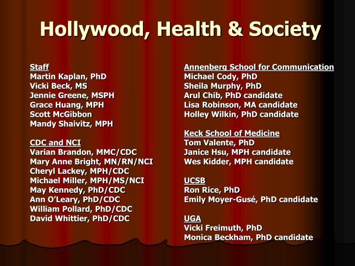 Hollywood health society