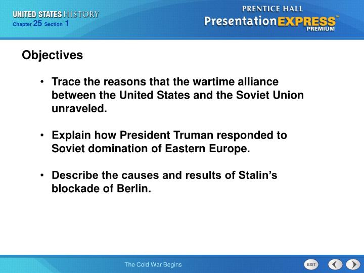the history of the cold war between the united states and the soviet union