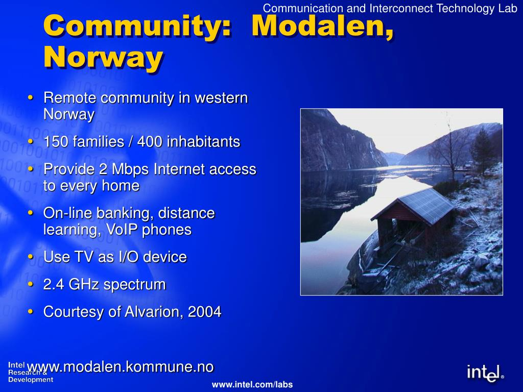 Community:  Modalen, Norway