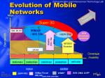evolution of mobile networks