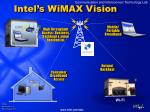 intel s wimax vision
