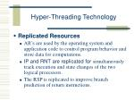 hyper threading technology24