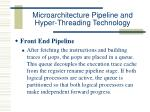 microarchitecture pipeline and hyper threading technology29