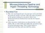 microarchitecture pipeline and hyper threading technology30