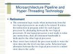 microarchitecture pipeline and hyper threading technology31